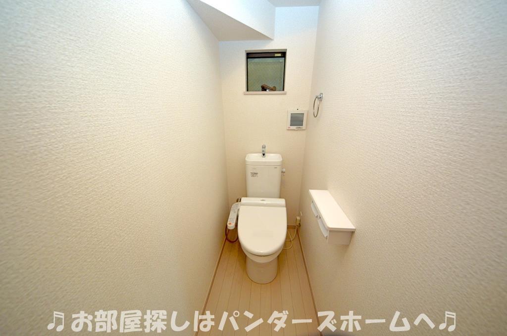 トイレ2箇所あります。