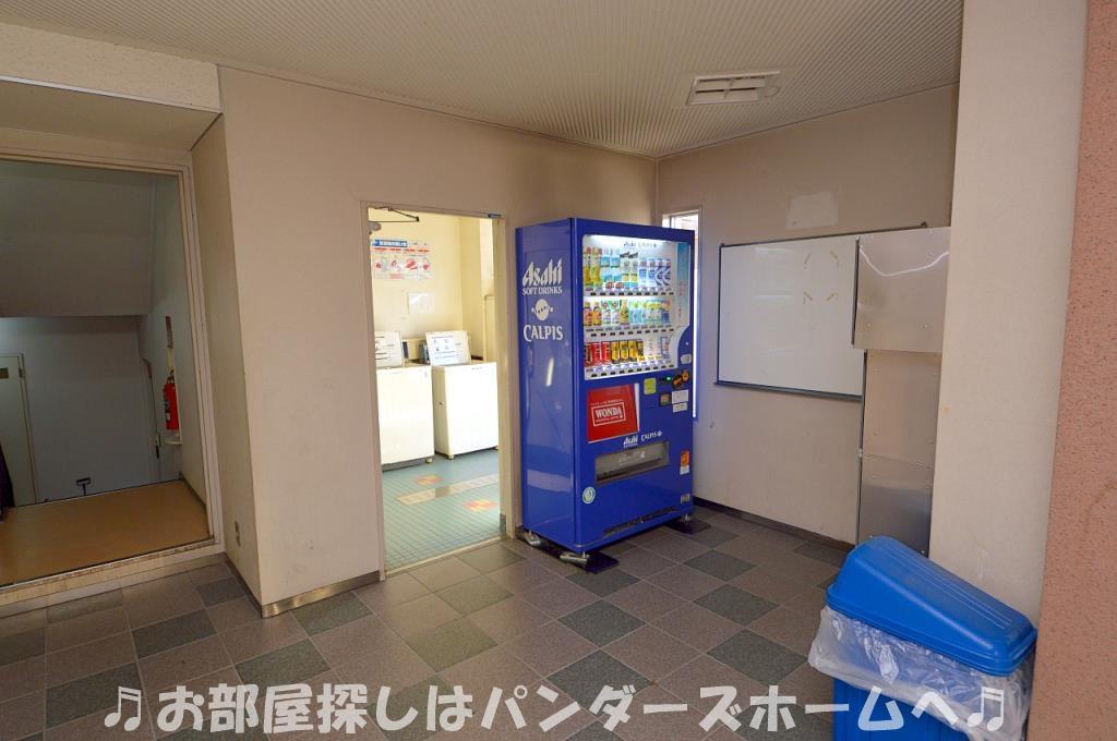 マンション内に自動販売機あります。